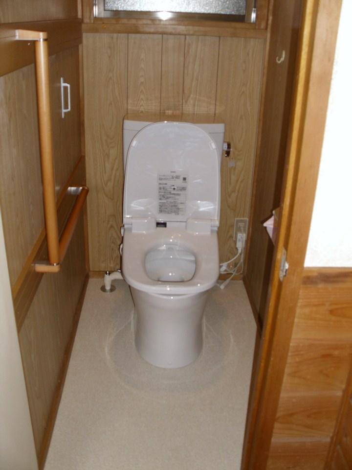 T様邸 トイレ改修工事